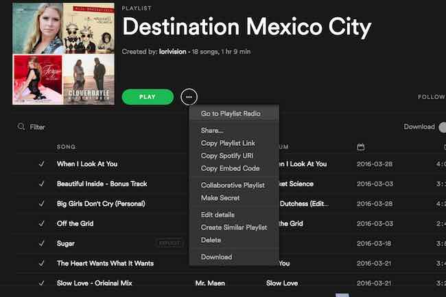 Tips For Creating A Writing Playlist On Spotify