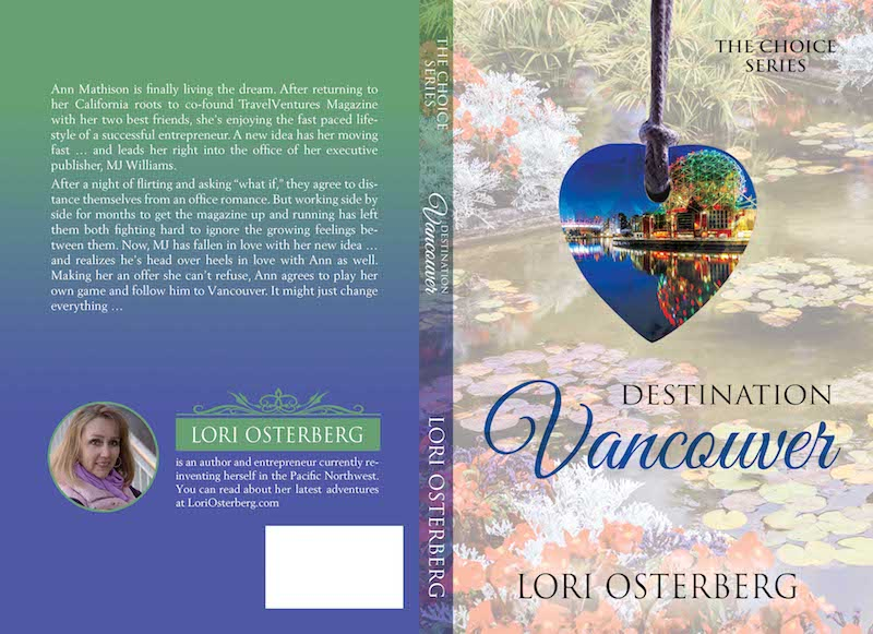 Cover Reveal: Destination Vancouver