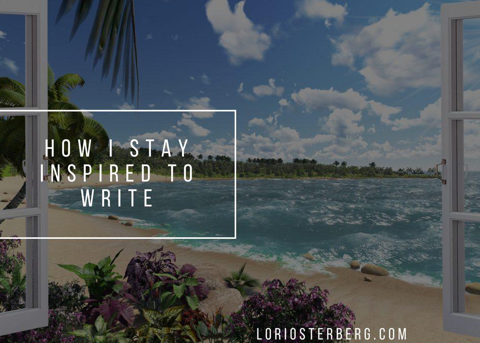 How I Get My Inspiration
