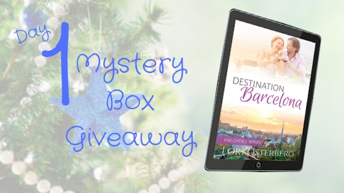 Day 1 – It's Here! My Mystery Box Romance Novel Giveaway Is Here!