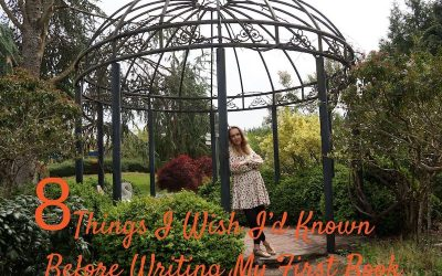 8 Things I Wish I'd Known Before Writing My First Book